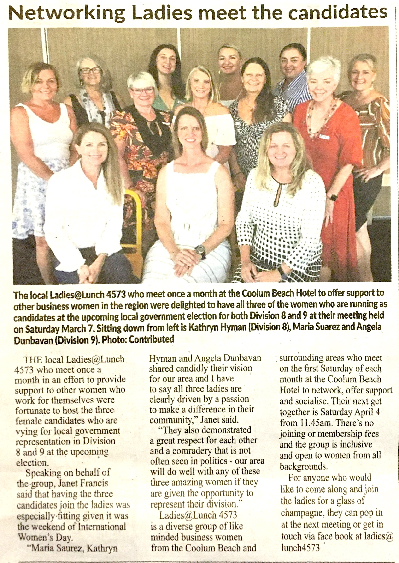 Coolum Adv ladies lunch-page-1